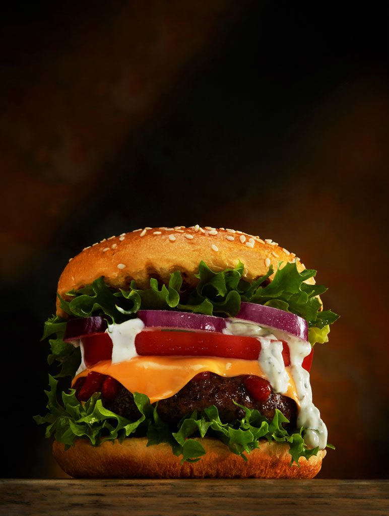 fast food photography