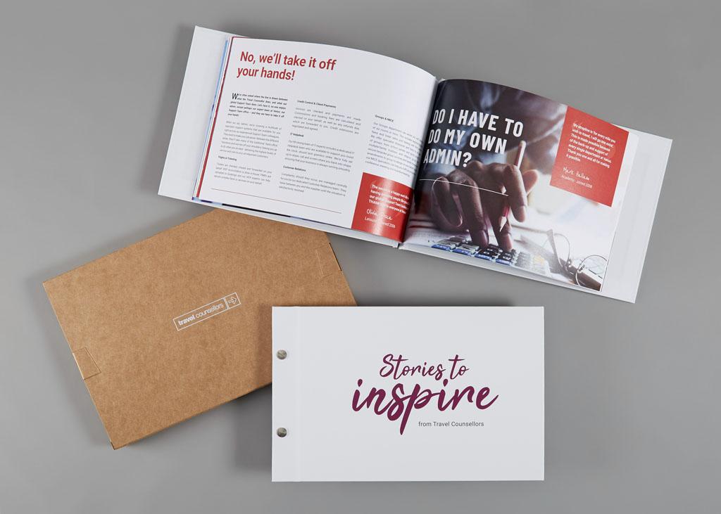personalised printed brochure