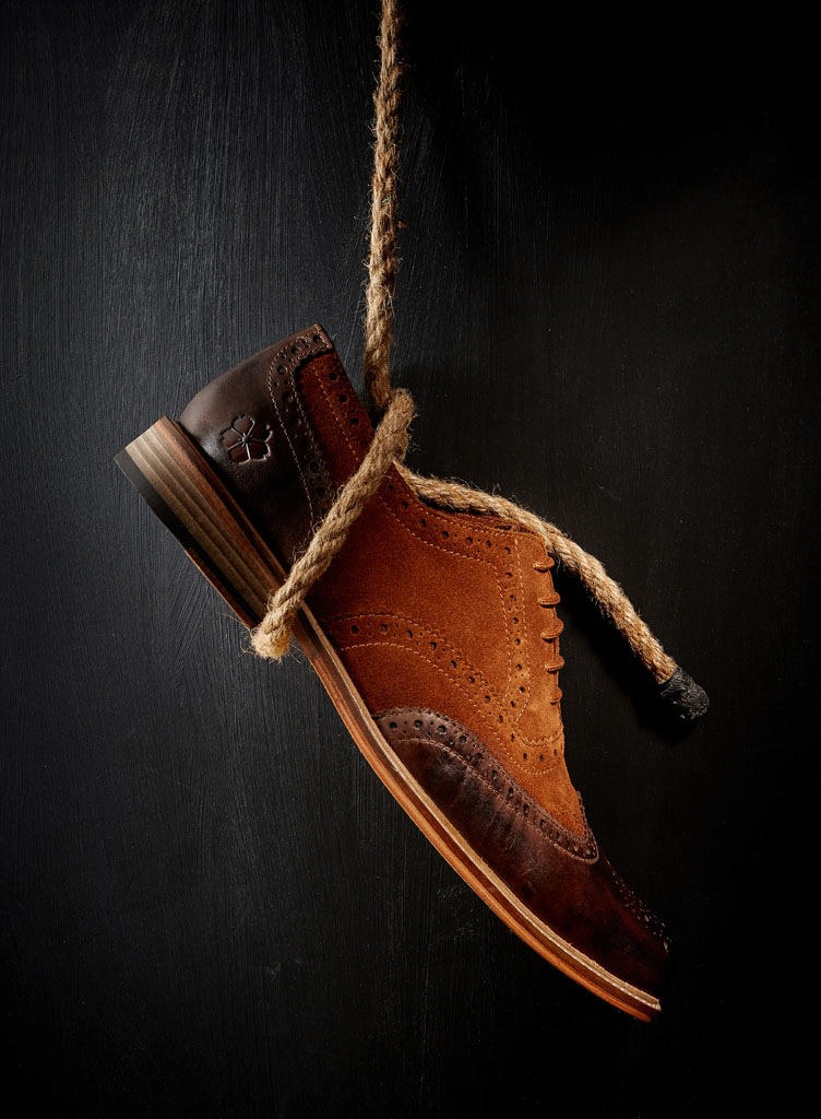 mens footwear photography